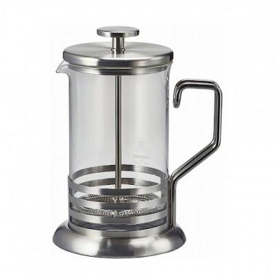 Френч-пресс Hario 600 мл для кофе и чая. Нержавеющая сталь и стекло