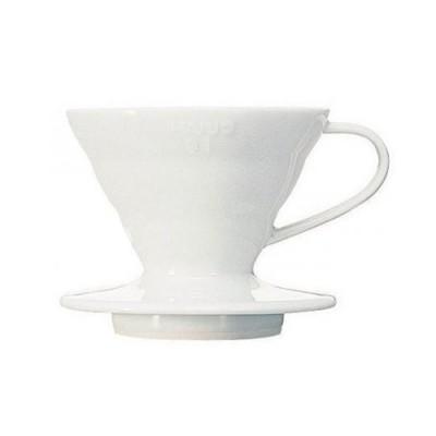 Пуровер Hario V60 01 керамический белый